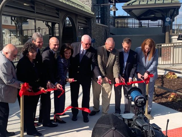 Mount Joy Train Station Ribbon Cutting Ceremony